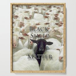 Black Sheep Matter Serving Tray