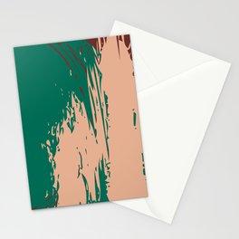 Ultramarine Green, Peach Nougat & Fired Brick  Stationery Cards