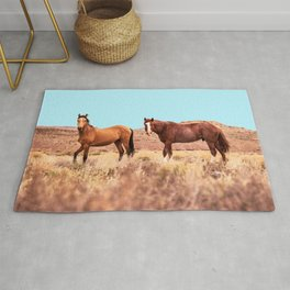 Horses #society6 #decor #buyart Rug