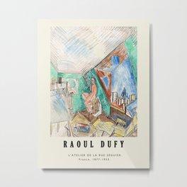 Poster-Raoul Dufy-L'Atelier De La Rue Séguier. Metal Print