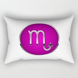 Zodiac Scorpio Rectangular Pillow
