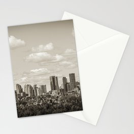 Calgary Skyline  Stationery Cards