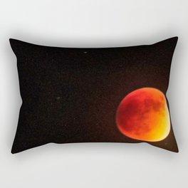 Super Blood Moon 9/27/2015 Rectangular Pillow