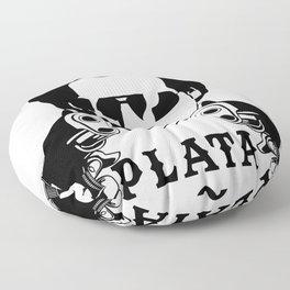 Plata o Plomo Design Funny Colombian Gift fo Escobar Lovers Floor Pillow