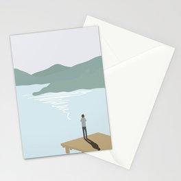Waiting The Sun Goes Down Stationery Cards