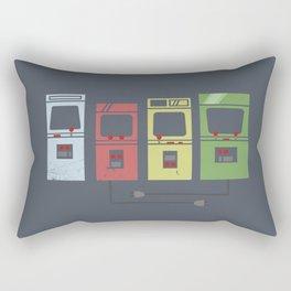 Arcade Machines Rectangular Pillow