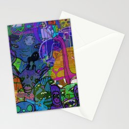 MULTIVERSE MURAL Stationery Cards