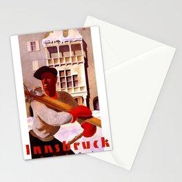 Vintage poster - Innsbruck Stationery Cards