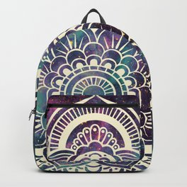 Galaxy Mandala : Deep Pastels Backpack