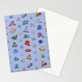 Funny Hats Stationery Cards