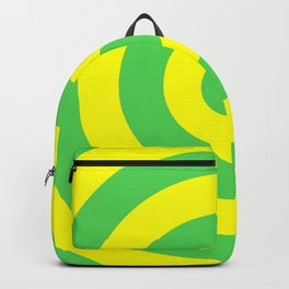 Target (Green & Yellow Pattern) Backpack