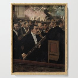 Edgar Degas - L'Orchestre de l'Opéra.jpg Serving Tray