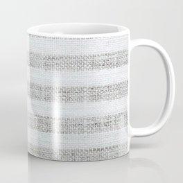 Vintage Farmhouse Grain sack Coffee Mug