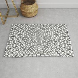Hypnotic Critical Roll Illusion Rug