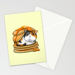 Kitty Pancakes Stationery Cards