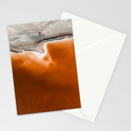 Red Pond in the Baja Desert vol. 1 Stationery Cards
