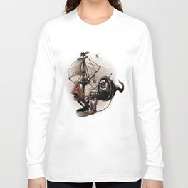destructured pirate #Hook Long Sleeve T-shirt