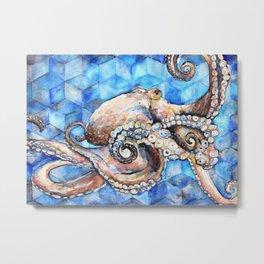 Magna Polypus (Large Octopus) Metal Print