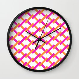 Pattern163 Wall Clock