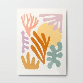 Seagrass + Sun Metal Print