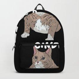 Big Cat Gift Idea Design Motif Backpack