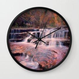 Arc Angel Falls Wall Clock