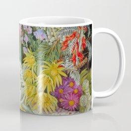 Medley of Wild Summer Mountain Flowers still life painting Coffee Mug
