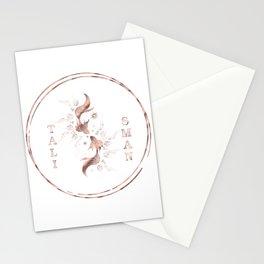 Elegant Vintage Gold Shamanic Talisman Stationery Cards