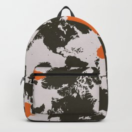 world map, Africa Backpack