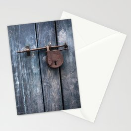 Padlock III Stationery Cards