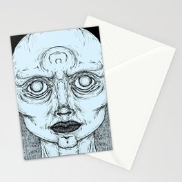 Sleep paralysis Stationery Cards