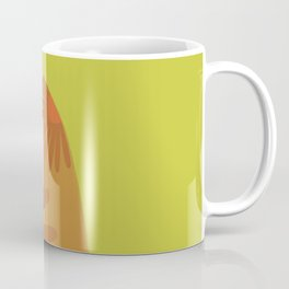 Ready to mingle/ Orange Coffee Mug