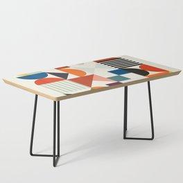 mid century retro shapes geometric Coffee Table