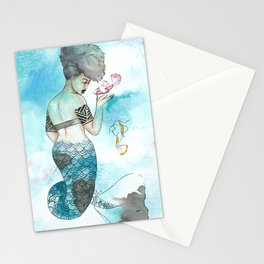 Midori | Inked Mermaids Series Stationery Cards