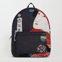 Utagawa Kuniteru - yaoya ohichi Backpack