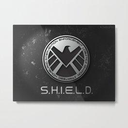 S.H.I.E.L.D Metal Print