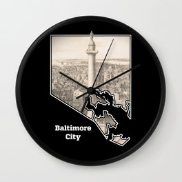 Washington Monument, Baltimore Wall Clock