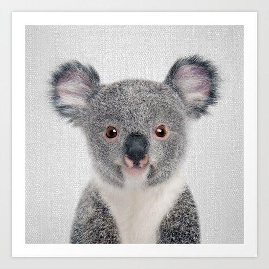 Baby Koala - Colorful by galdesign