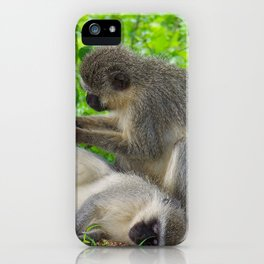 """African Pedicure"" by ICA PAVON iPhone Case"