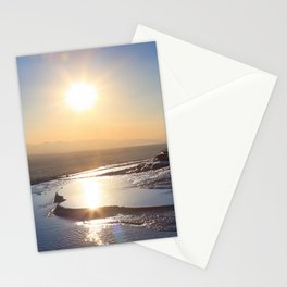 Pamukkale, meaning cotton castle in Turkey Stationery Cards