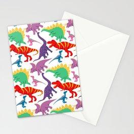 Dinosaur Domination - Light Stationery Cards