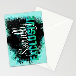Socially Exclusive Stationery Cards