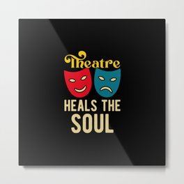 Funny Theatre Metal Print