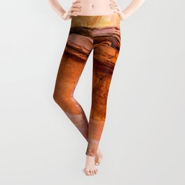 Colorful Sandstone, Valley-of-Fire State Park Leggings