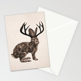 the classic jackalope Stationery Cards