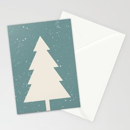 Xmas Tree Stationery Cards