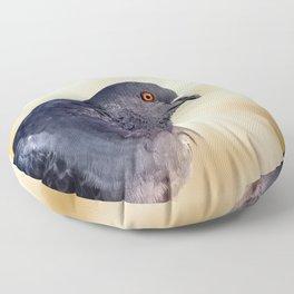 Bright-eyed Beauty Floor Pillow