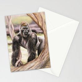 Gorrilla: The Protector Stationery Cards