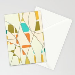 Flying Circles Secondary Stationery Cards