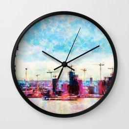 London in Motion Wall Clock